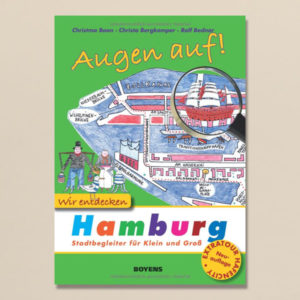 Hamburg-Reiseführer für Kinder mit Illustrationen von Ralf Bednar