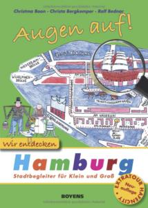 Buchcover Augen Auf Wir entdecken Hamburg