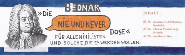 Banderole Kunstdose für Nihilisten
