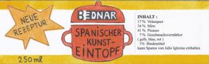 Banderole Spanischer Kunsteintopf