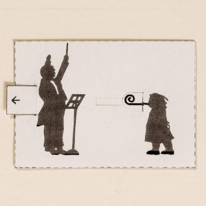 Kultur – Bewegliche Postkarte von Ralf Bednar