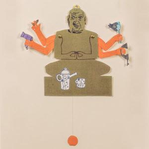 Hampelmann »Nervöser-Buddha«