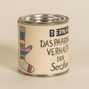 Kunstdose »Paarungsverhalten der Socken«