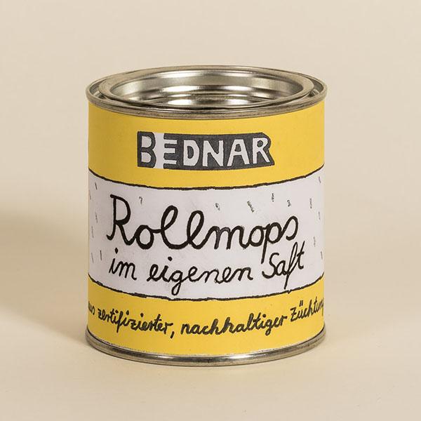 Kunstdose »Rollmops-im-eigenen-Saft«