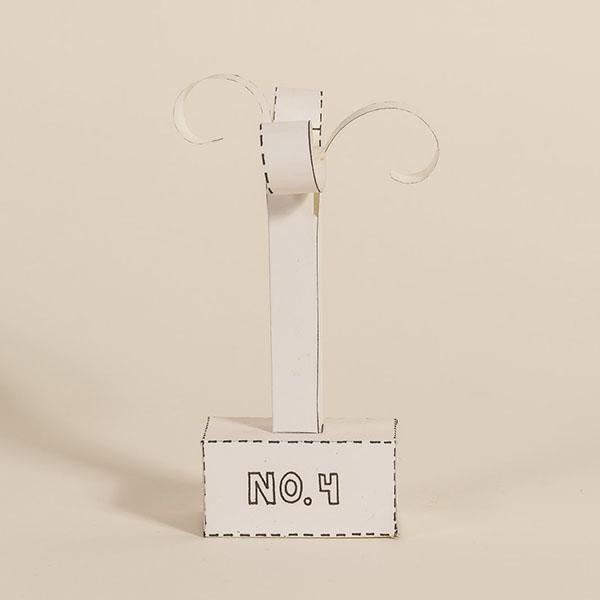 Papier-Skulptur-No.4
