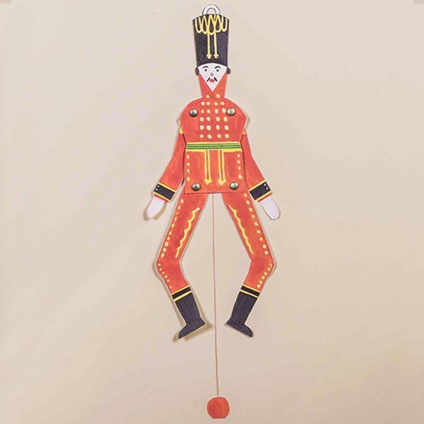 Animation: Klassischer Hampelmann aus Pappe
